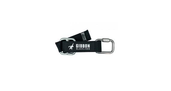 GIBBON Slow Release slackline zwart